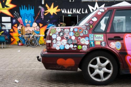 Graffity Waalhalla Nijmegen