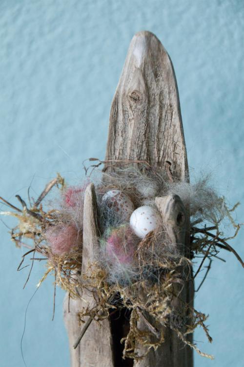 Nest met eitjes