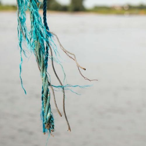 Touw vissersnet